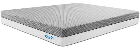 Durfi Single Cotton Candy Memory Foam Mattress, Best Bed Mattress in India 2020